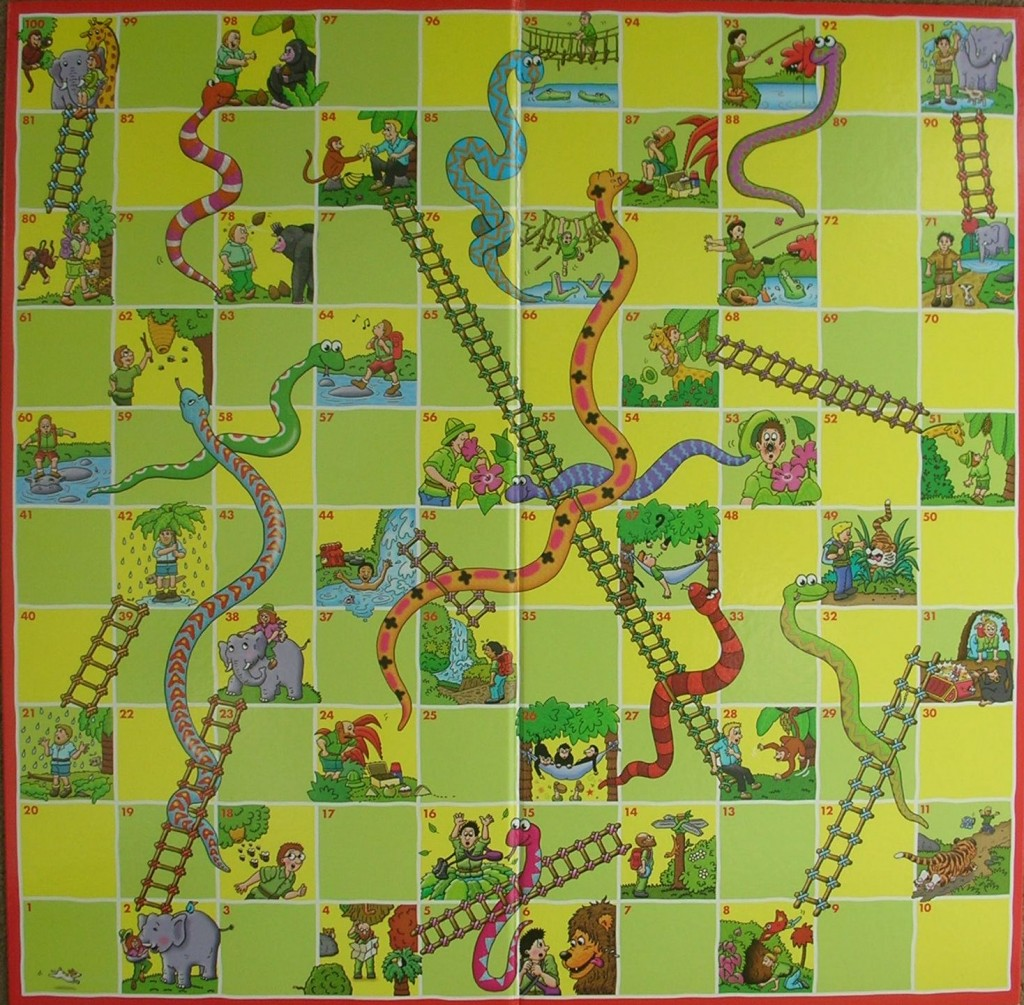 photo relating to Snakes and Ladders Printable named Snakes And Ladders - A Superb Direction Towards Discover Towards Rely, Increase and